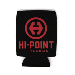Hi-Point® Black Koozie with Red Logo